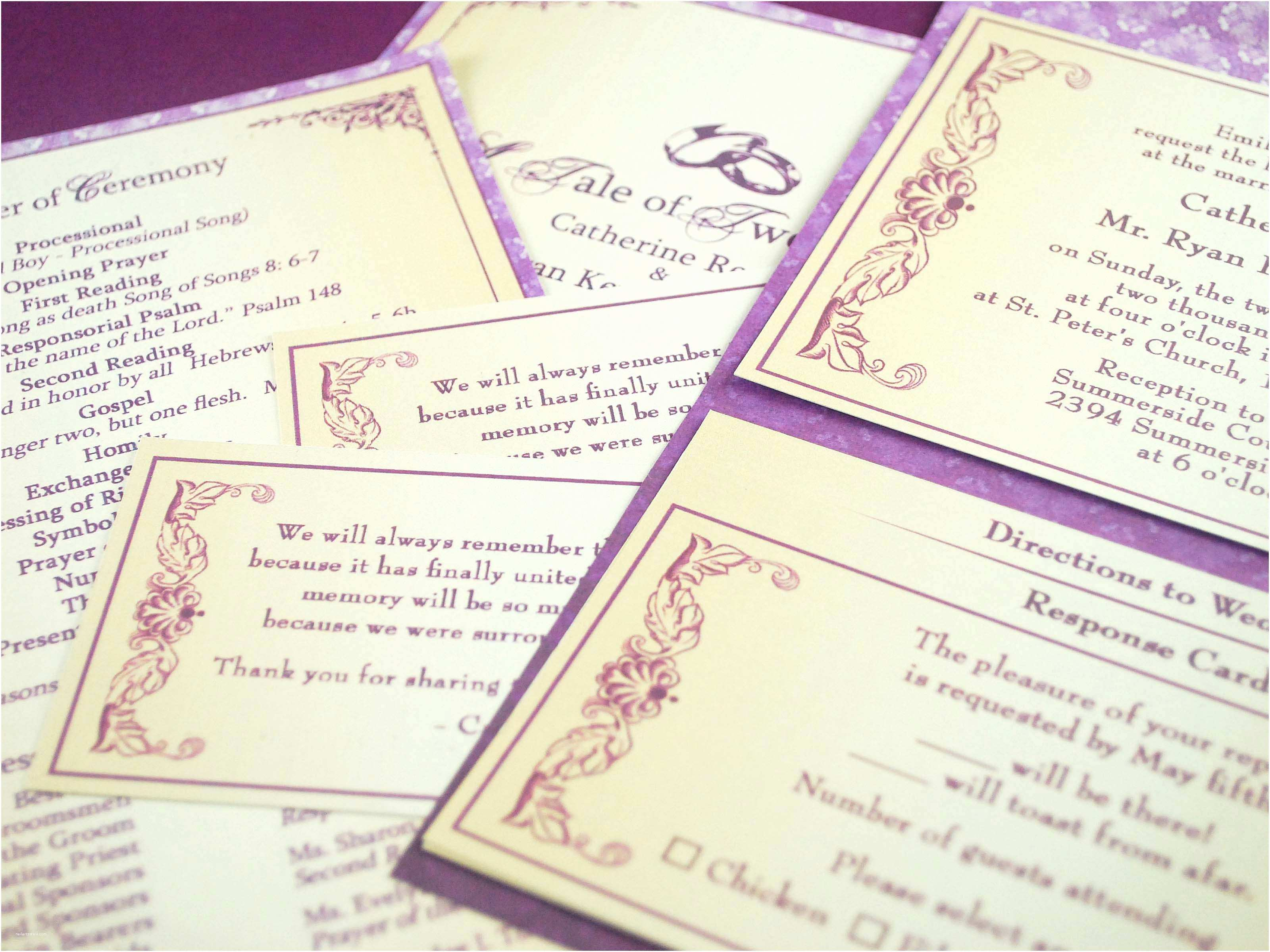 1 Page Wedding Invitation 50 New E Page Wedding Invitation Documents Ideas