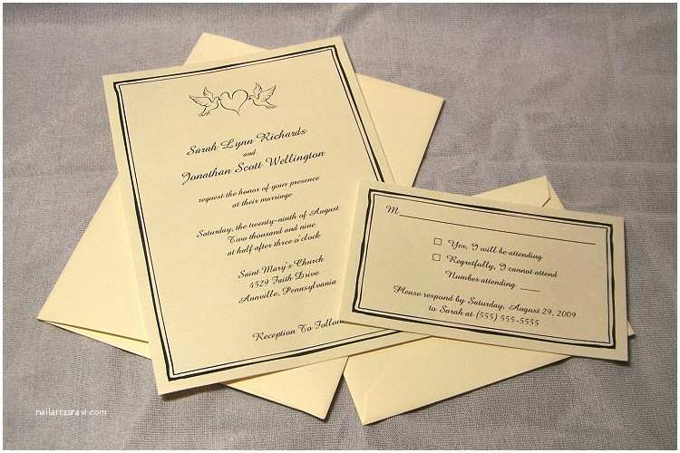 100 Personalised Wedding Invitations 100 Personalized Flat Wedding Invitation Card Rsvp