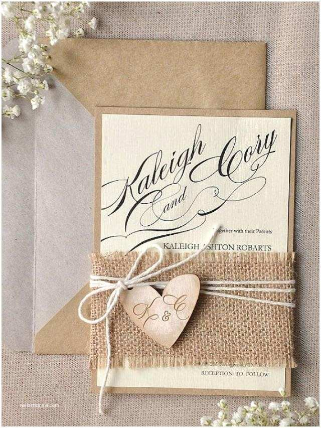 100 Personalised Wedding Invitations Custom Listing 100 Rustic Wedding Invitation
