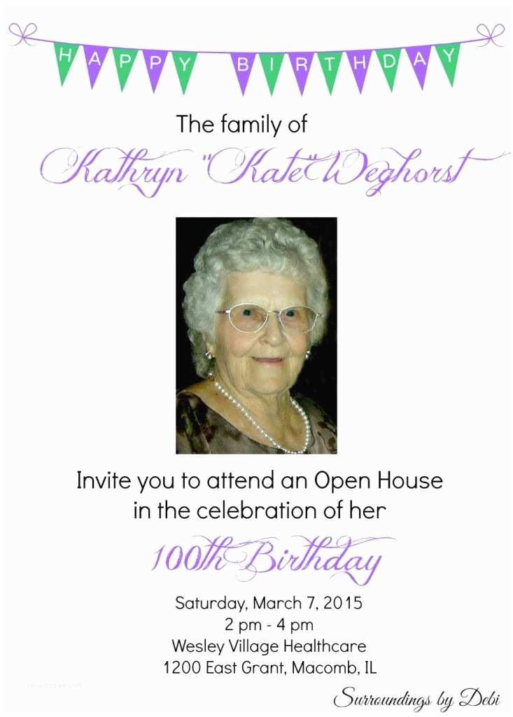 100th Birthday Invitations 100th Birthday Invitation Wording 100th Birthday Party