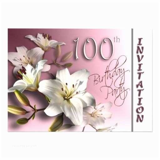 100th Birthday Invitations 21 Best 100th Birthday Invitation Templates Images On