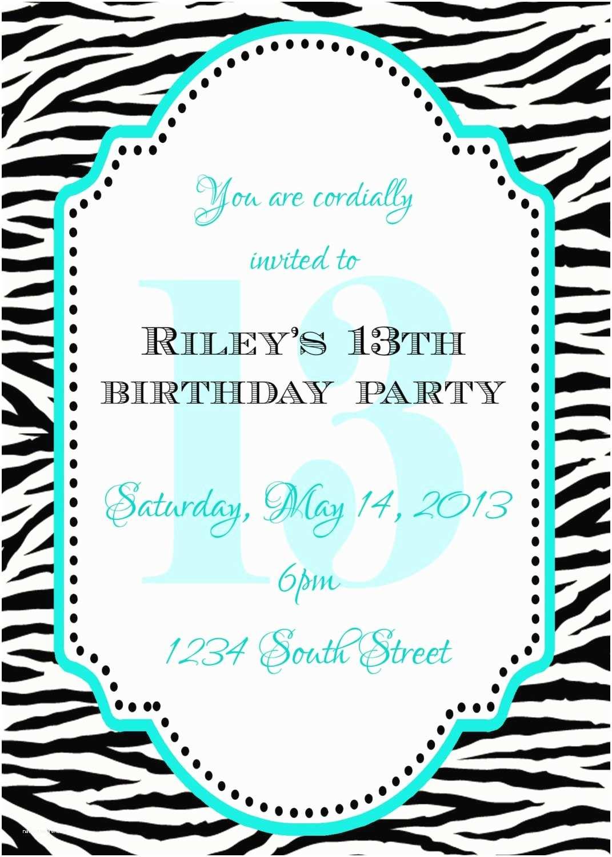 13th Birthday Party  13th Birthday