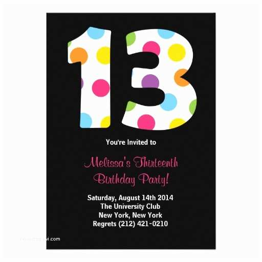 13th Birthday Party Invitations Invites 3 000 Invitation