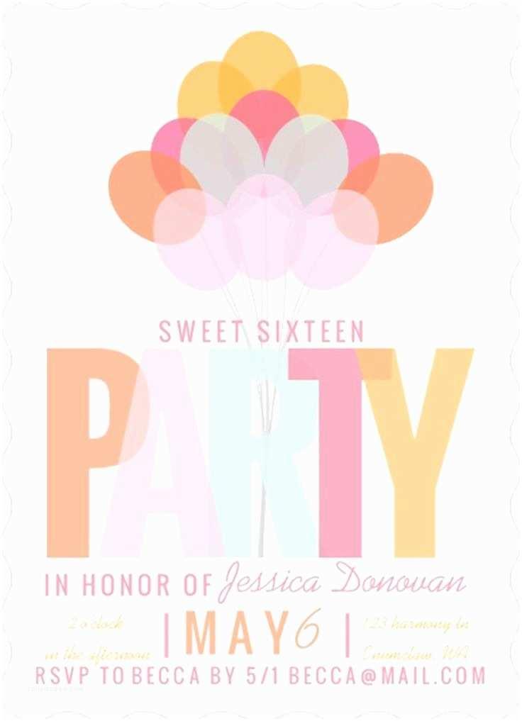 16th Birthday Invitations 151 Best Birthday Invitations Images On Pinterest