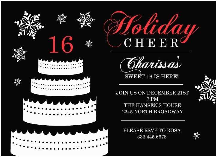 16th Birthday Invitations Sweet 16 Birthday Invitations Templates