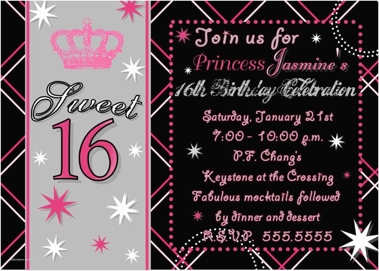 16th Birthday Party Invitations 16th Birthday Party Invitations Templates Free