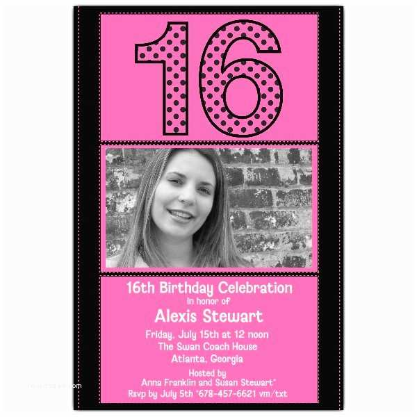 16th Birthday Party  Hot Pink 16th Birthday