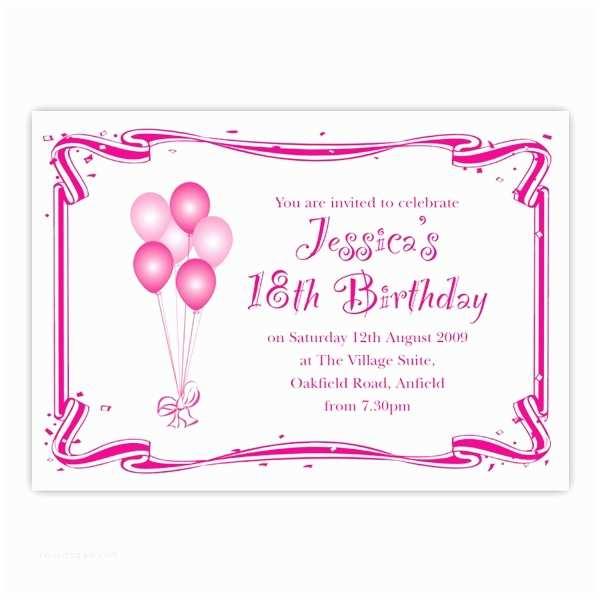 18th Birthday Invitations Cake Ideas And Designs