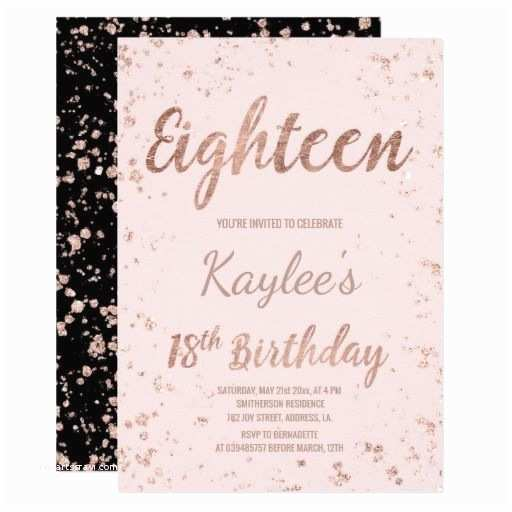 18th Birthday Invitations 438 Best 18th Birthday Party Invitations Images On