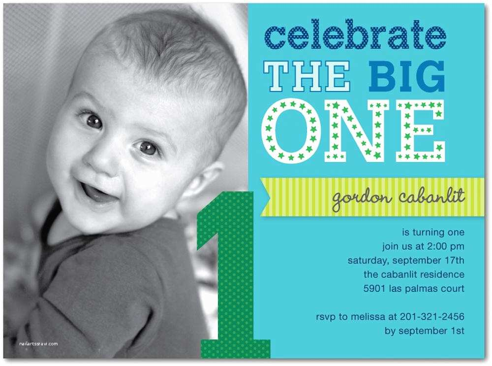 1st Birthday Invitation Wording 16 Best First Invites Printable Sample