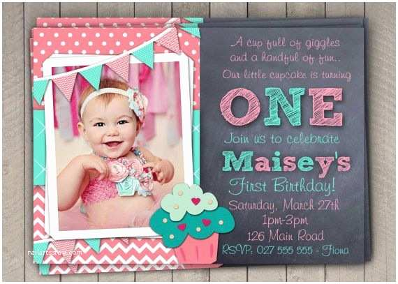 1st Birthday Invitation Wording For First