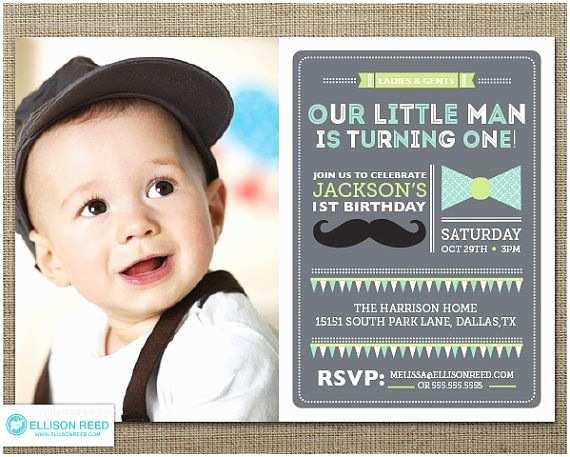 1st Birthday Invitations Boy Best 25 Mustache Ideas On Pinterest