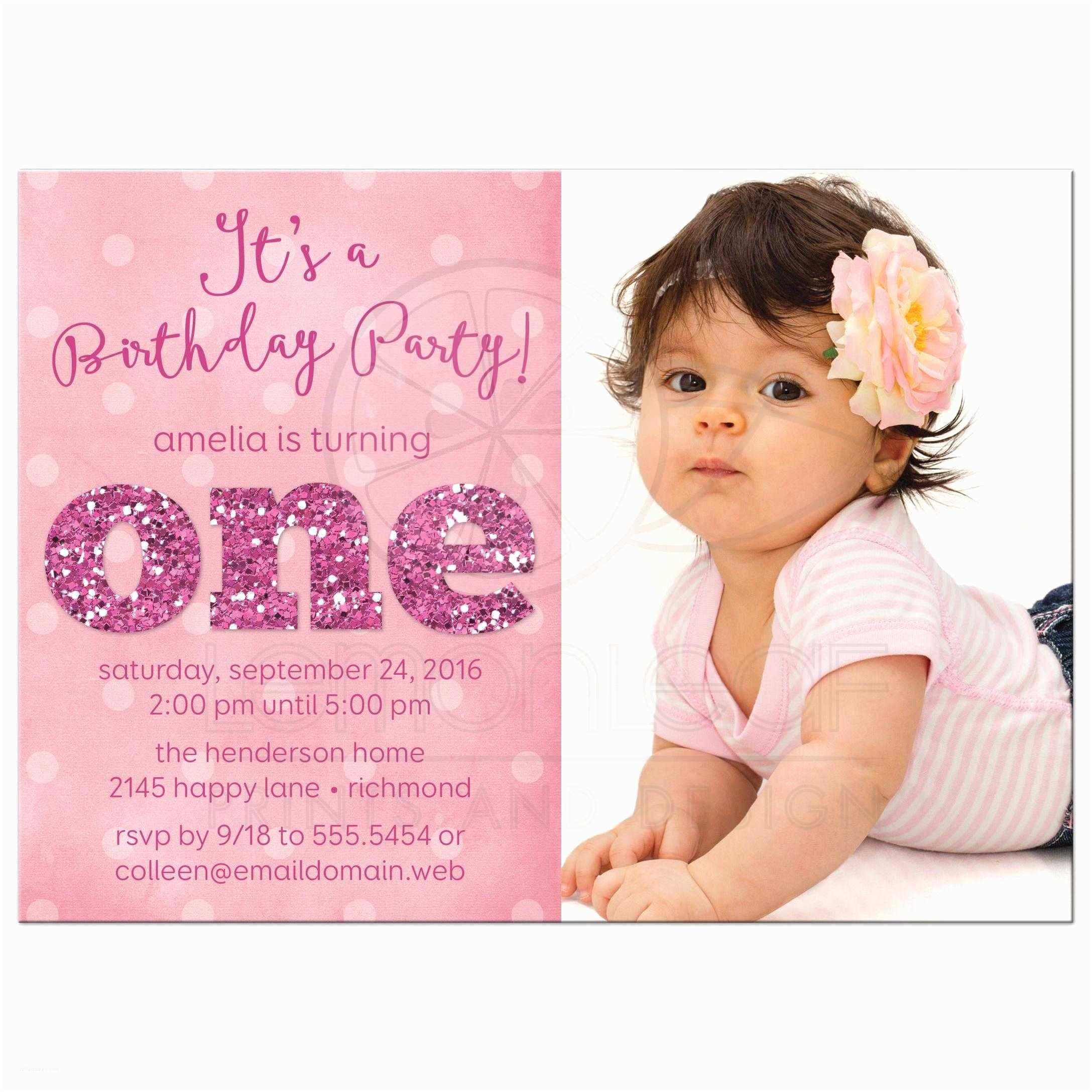 1st Birthday Invitations Girl 1st Birthday and Baptism Invitations 1st Birthday and