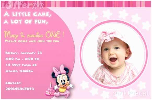 1st Birthday Invitations Girl 1st Birthday Invitations Girl