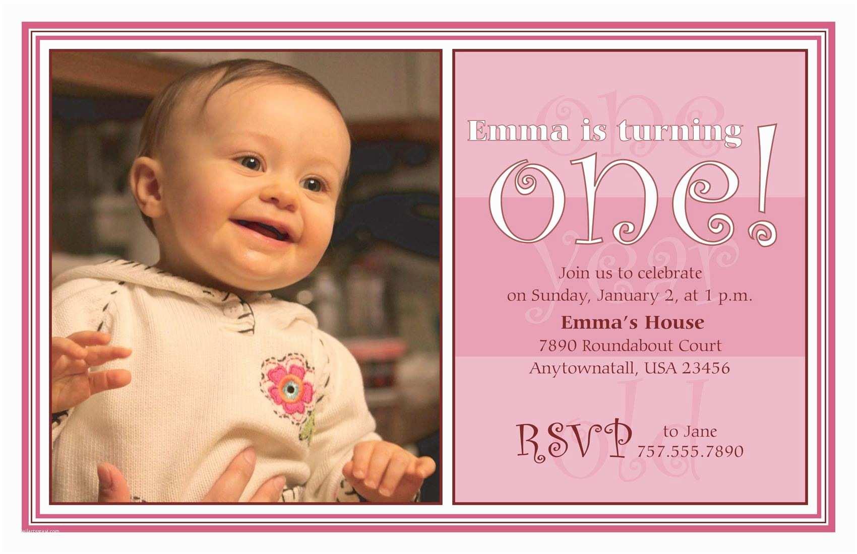 1st Birthday Party Invitations Birthday Invitation Card First Birthday Invitations