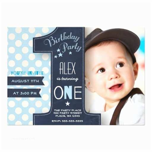1st Birthday Party Invitations Boy First Birthday Party Invitation Card Ladyprints