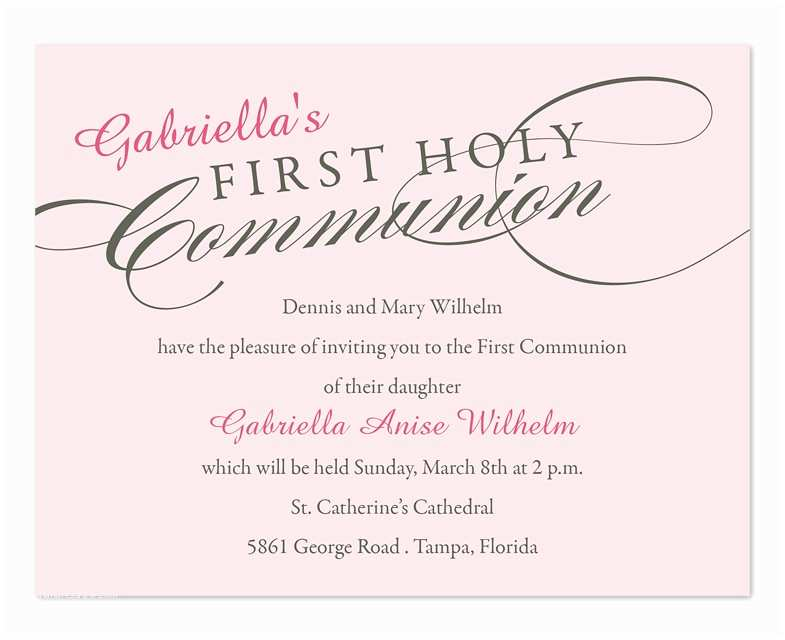 1st Communion Invitations First Holy Munion Party Invitations by Invitation