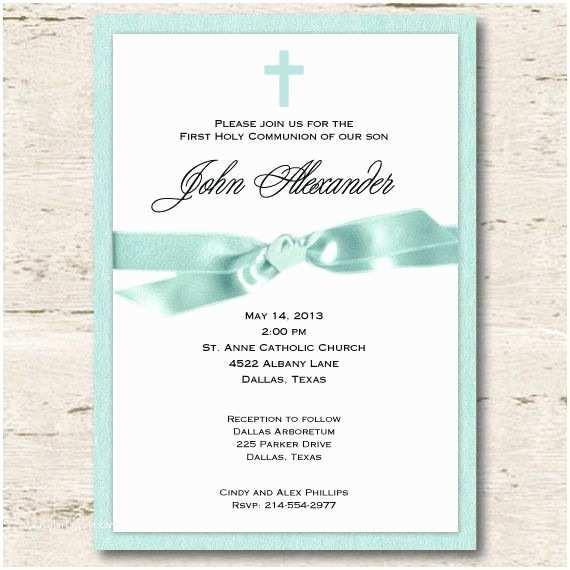 1st Communion Invitations First Munion Invitation