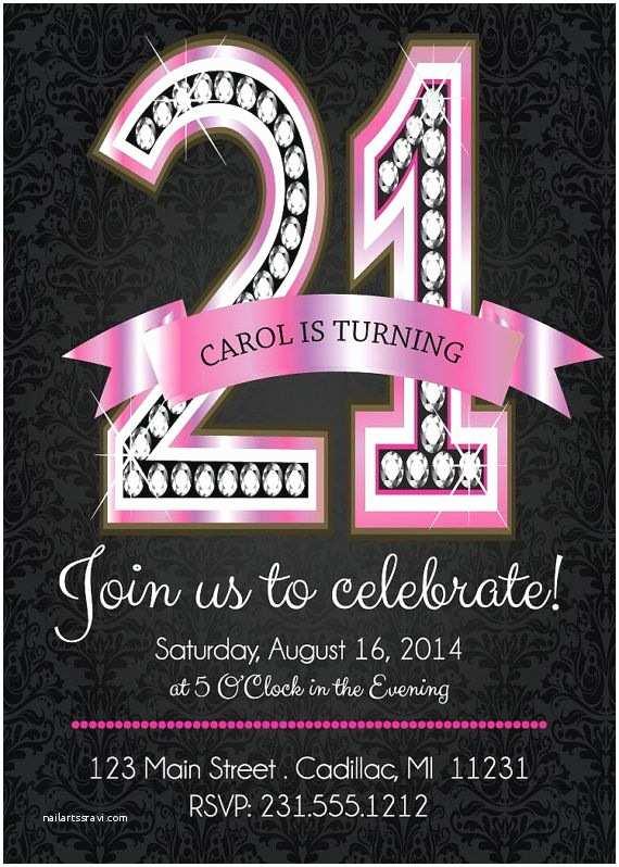 21 Birthday Invitations 17 Best Ideas About 21st Birthday Invitations On Pinterest