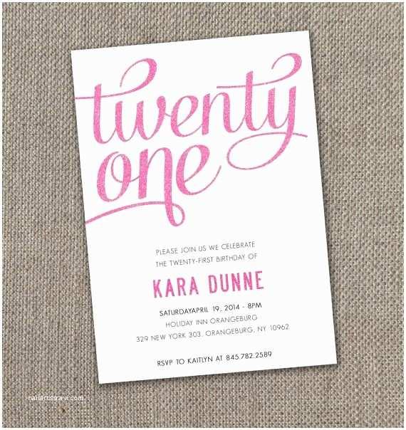 21 Birthday Invitations 17 Best Ideas About 21st On Pinterest