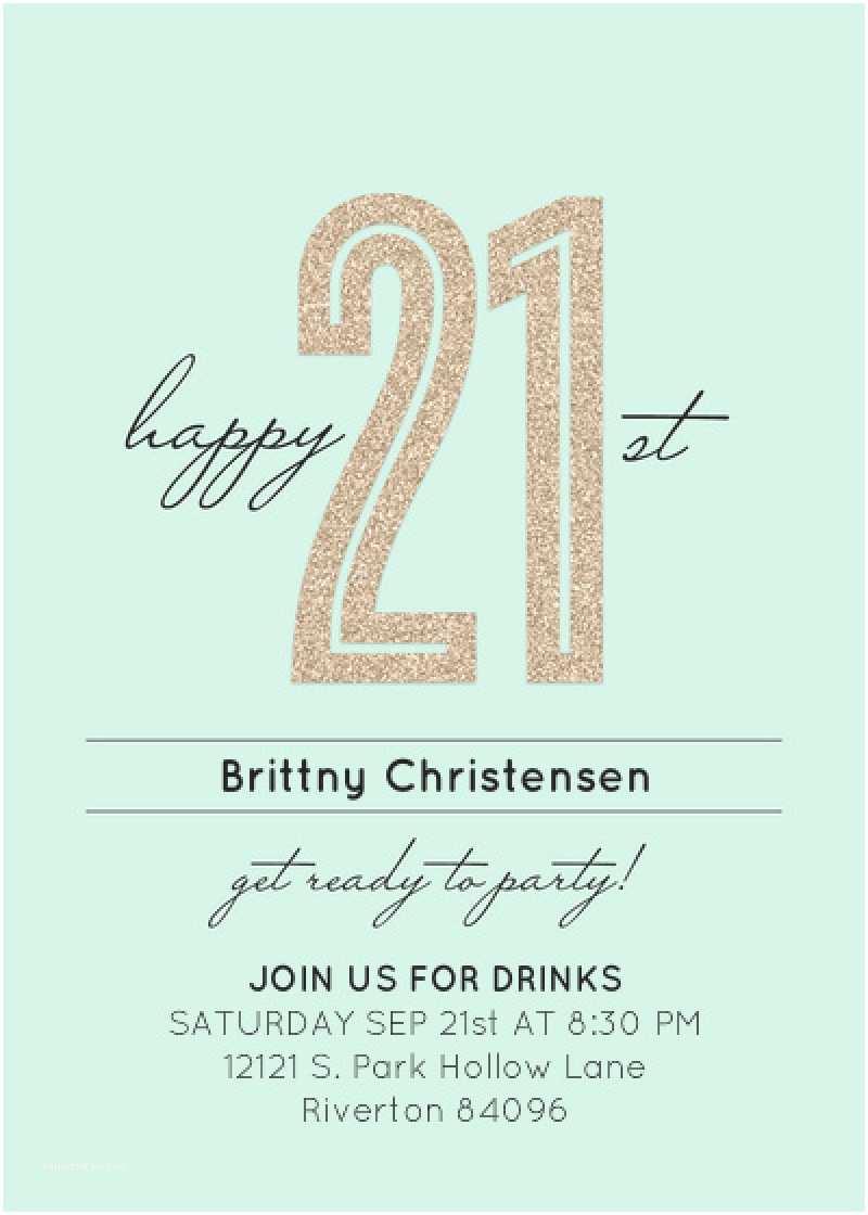21 Birthday Invitations 21 Year Old Birthday Invitation Template – orderecigsjuice