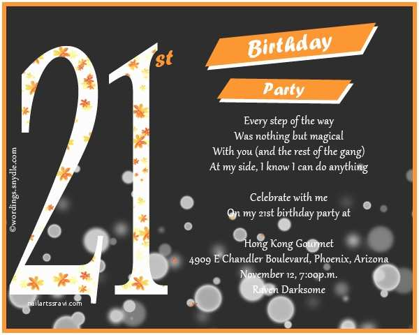 21 Birthday Invitations 21st Invitation Cards For Guys