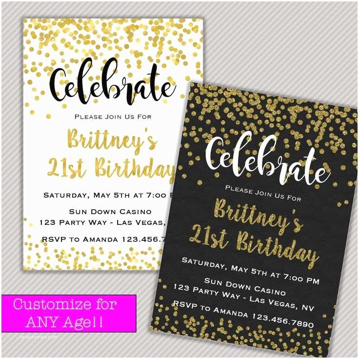 21st Birthday Invitations 1000 Ideas About 21st Birthday Invitations On Pinterest