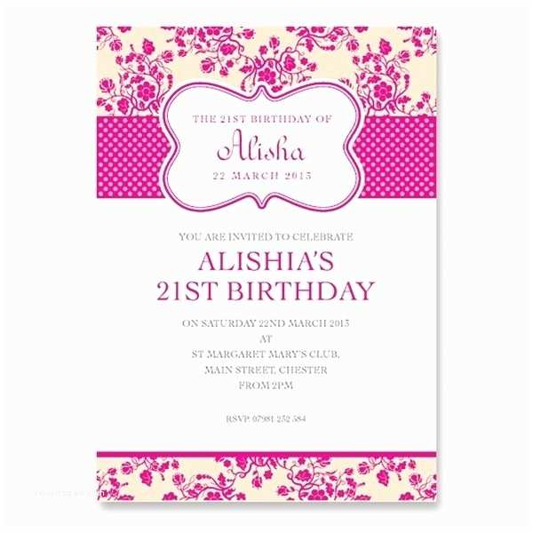 21st Birthday Invitations 21st Birthday Card Invitation Designs