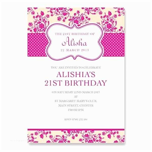 21st Birthday Invitations Card Invitation Designs