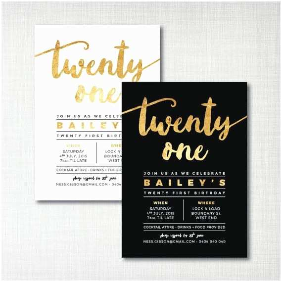 21st Birthday Invitations 25 Best Ideas About 21st Birthday Invitations On