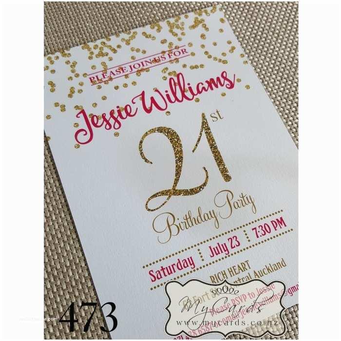 21st Birthday Party Invitations 21st Birthday Invitations