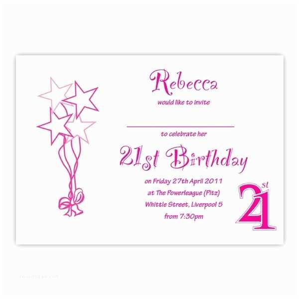 dbmf122 21st birthday party invitation