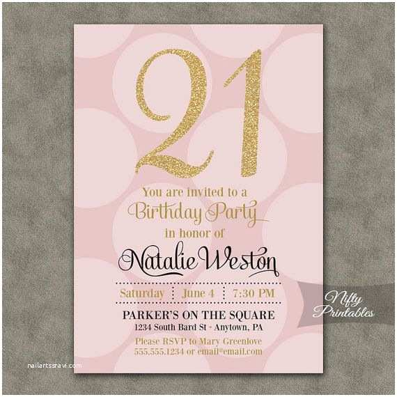 21st Birthday Party Invitations 25 Best Ideas About On