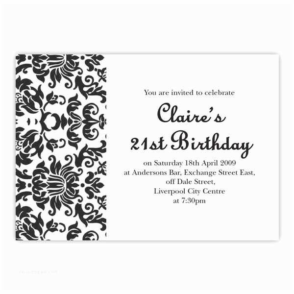 21st Birthday Party Invitations top 14 21st Birthday Party Invitations
