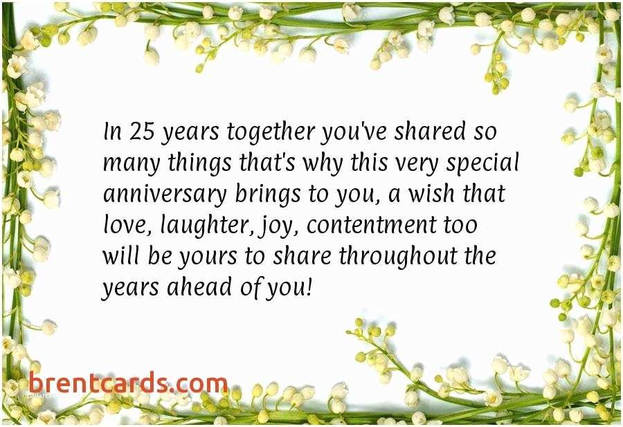 25th Wedding Anniversary Invitation Cards Free Download Parents Wedding Anniversary Card 25th Anniversary