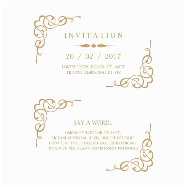 25th Wedding Anniversary Invitation Cards Free Download Wedding Invitation Card Vector