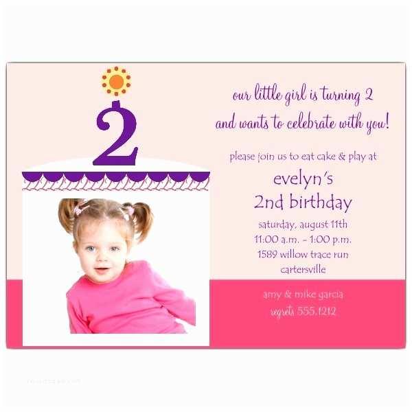 2nd Birthday Invitation Wording 2nd Birthday Card Wording Lovely 2nd Birthday Invitations