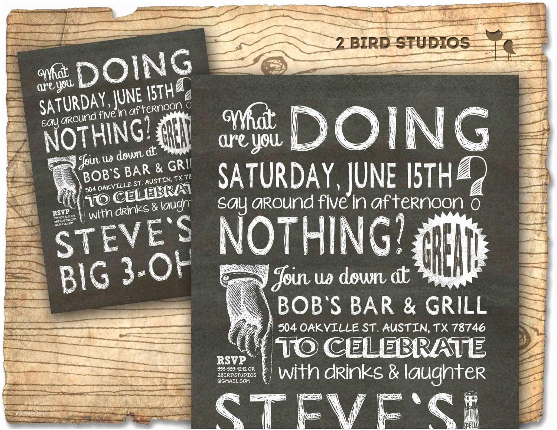 30th Birthday Invitation 30th Birthday Invitations Vintage