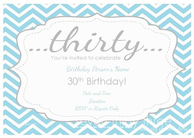 30th Birthday Invitation 40th Birthday Ideas 30th Birthday Invitations Templates