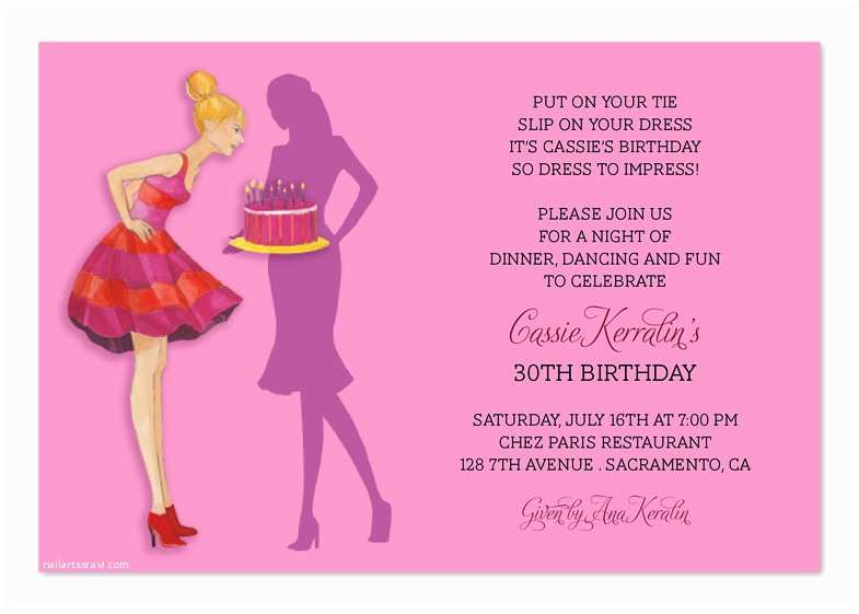 30th Birthday Invitation Wording 18th Invite Image Frompo 1