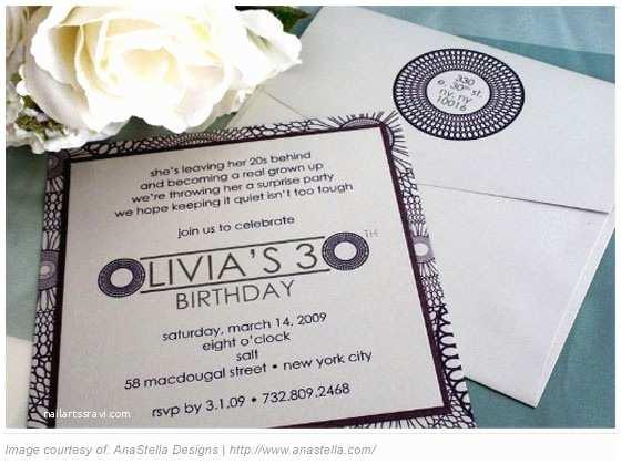 30th Birthday Invitation Wording 30th Birthday Invitations