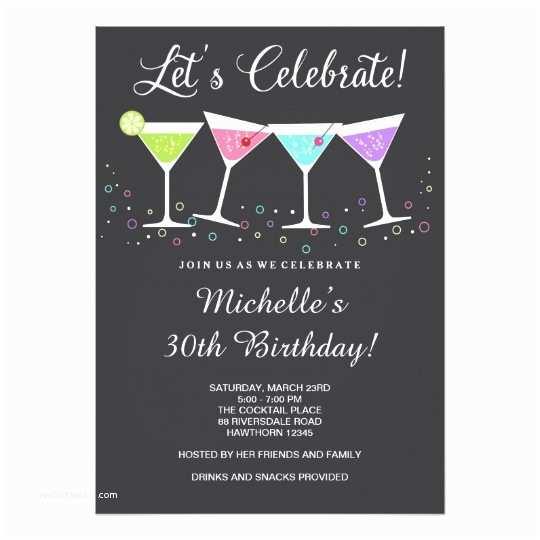 30th Birthday Invitations for Her 30th Birthday Invitation Adult Birthday Invite