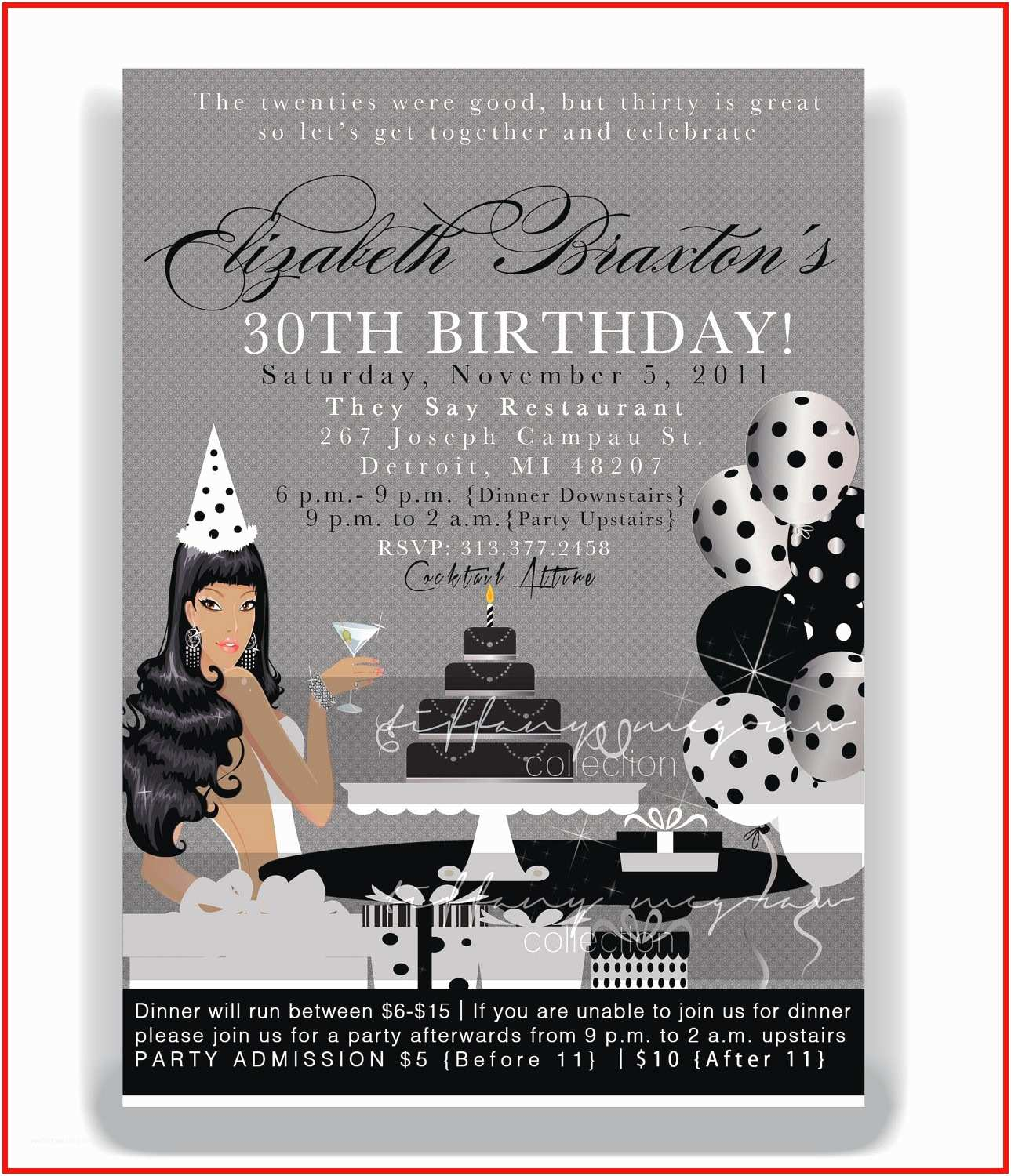 Surprise 40th Birthday Invitation For Woman Party Etsy