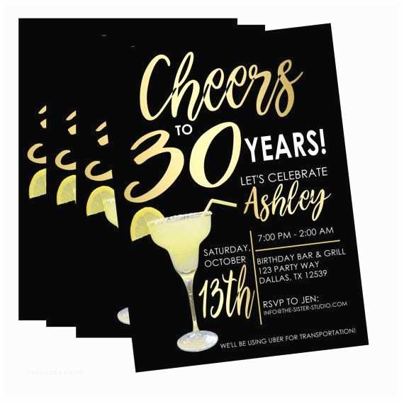 30th Birthday Invitations for Her Best 25 30th Birthday Cards Ideas On Pinterest