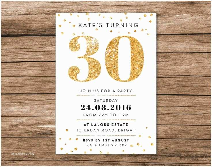 30th Birthday Invitations For Her Best 25 Ideas On Pinterest