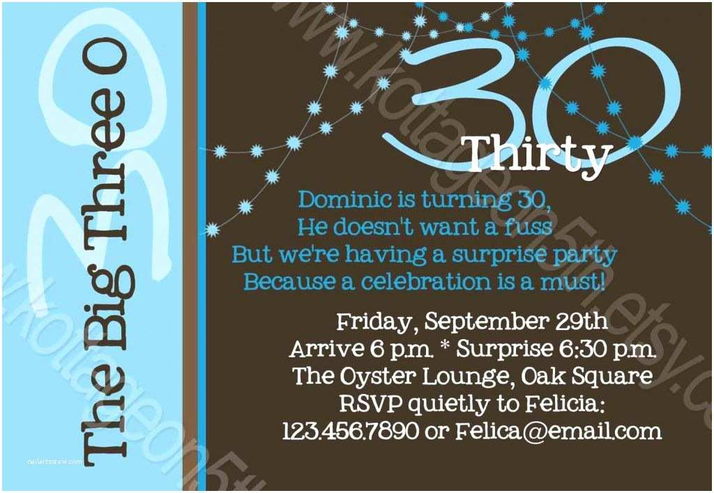 30th Birthday Invitations for Him 30th Birthday Invitations for Him A Birthday Cake