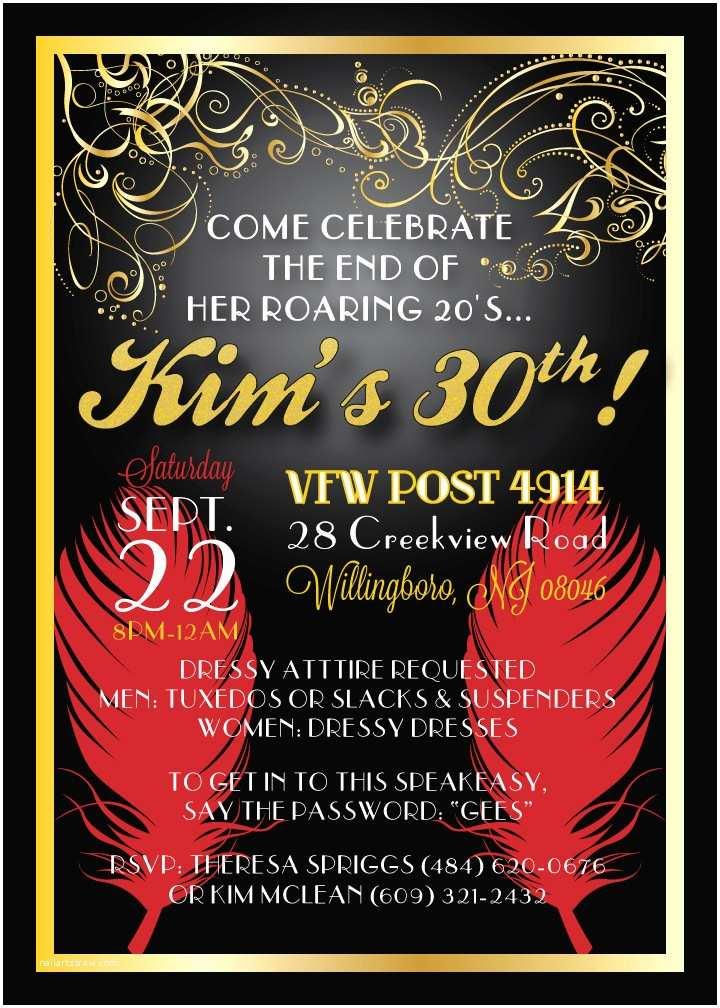 30th Birthday Party Invitations 30th Birthday Invitation Ideas