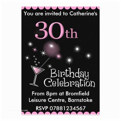 30th Birthday Party Invitations Invitation Template