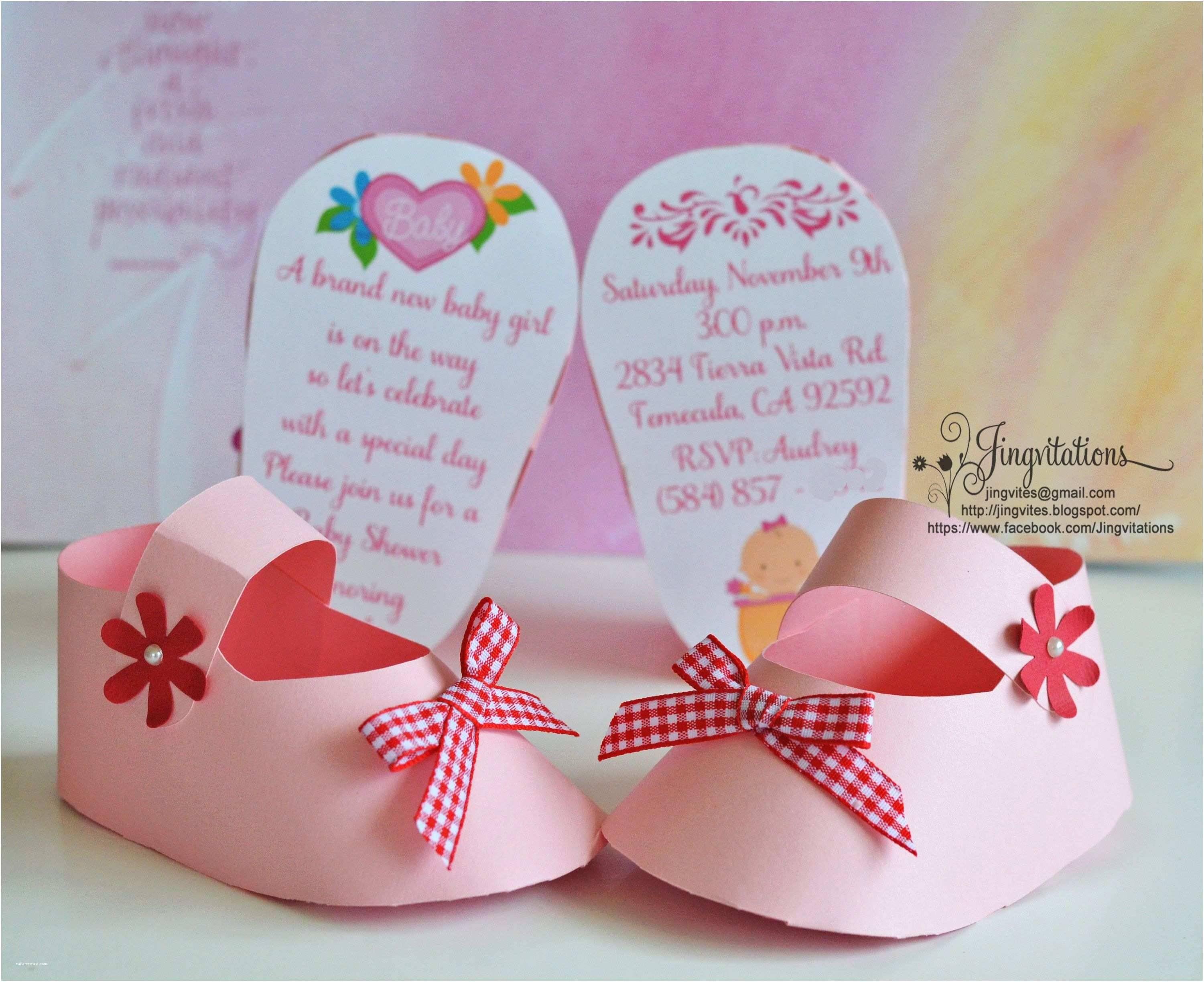 3d Baby Shower Invitations 3d Invitations Very Unique Baby Shoe Invites for Baby