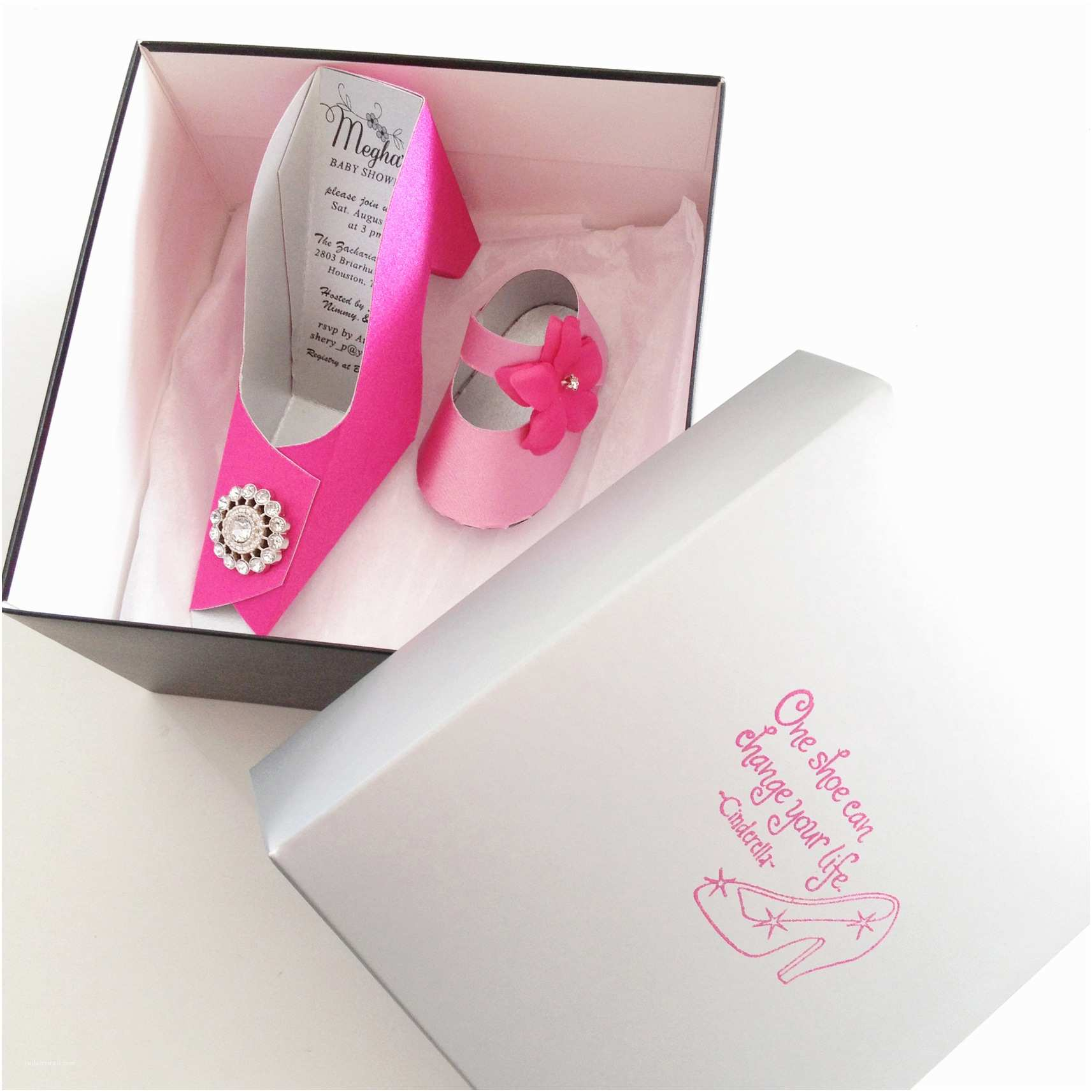 3d Baby Shower Invitations Bewitching 3d Shoe Invitation